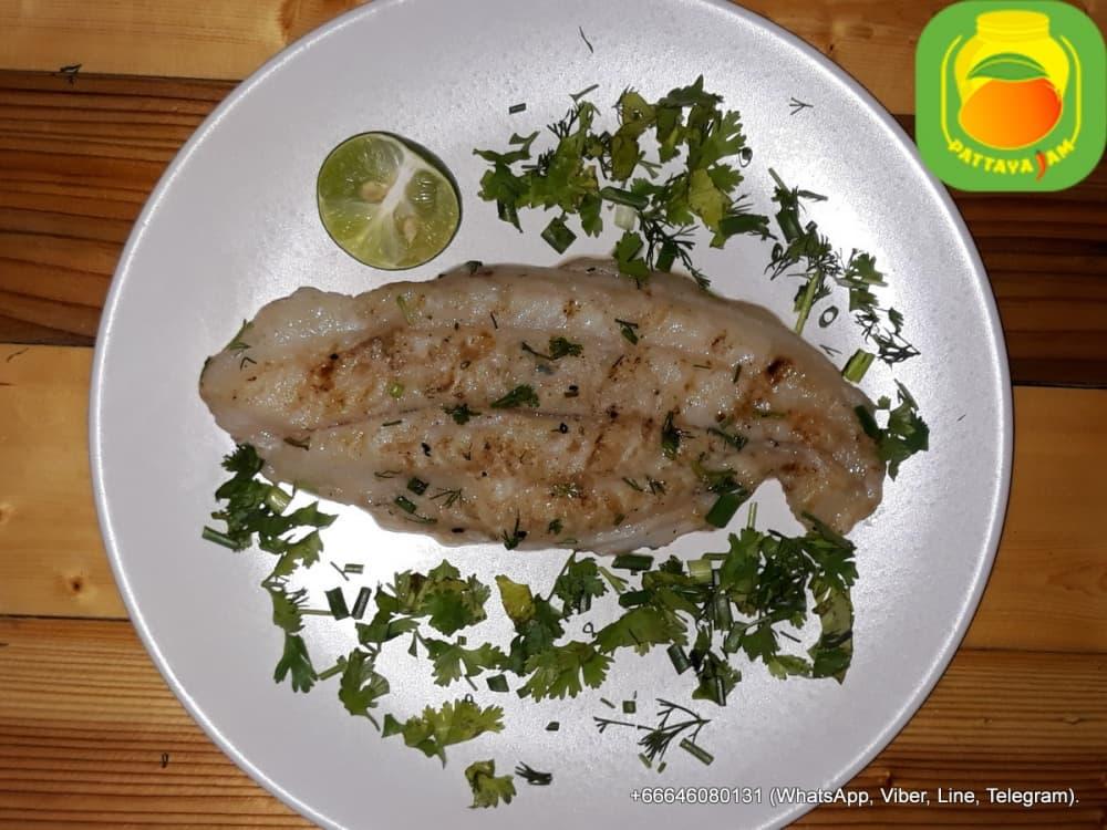 BBQ Рыбное филе на гриле.