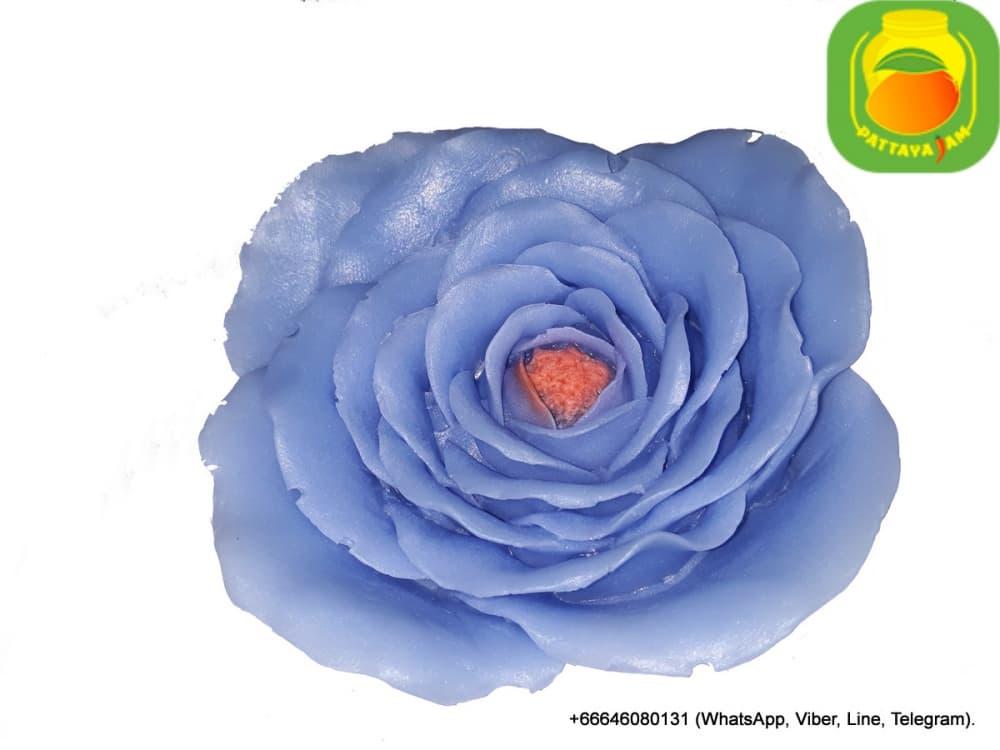 Мыло ручной работы большая роза, в куполе. Подарок в Таиланде.