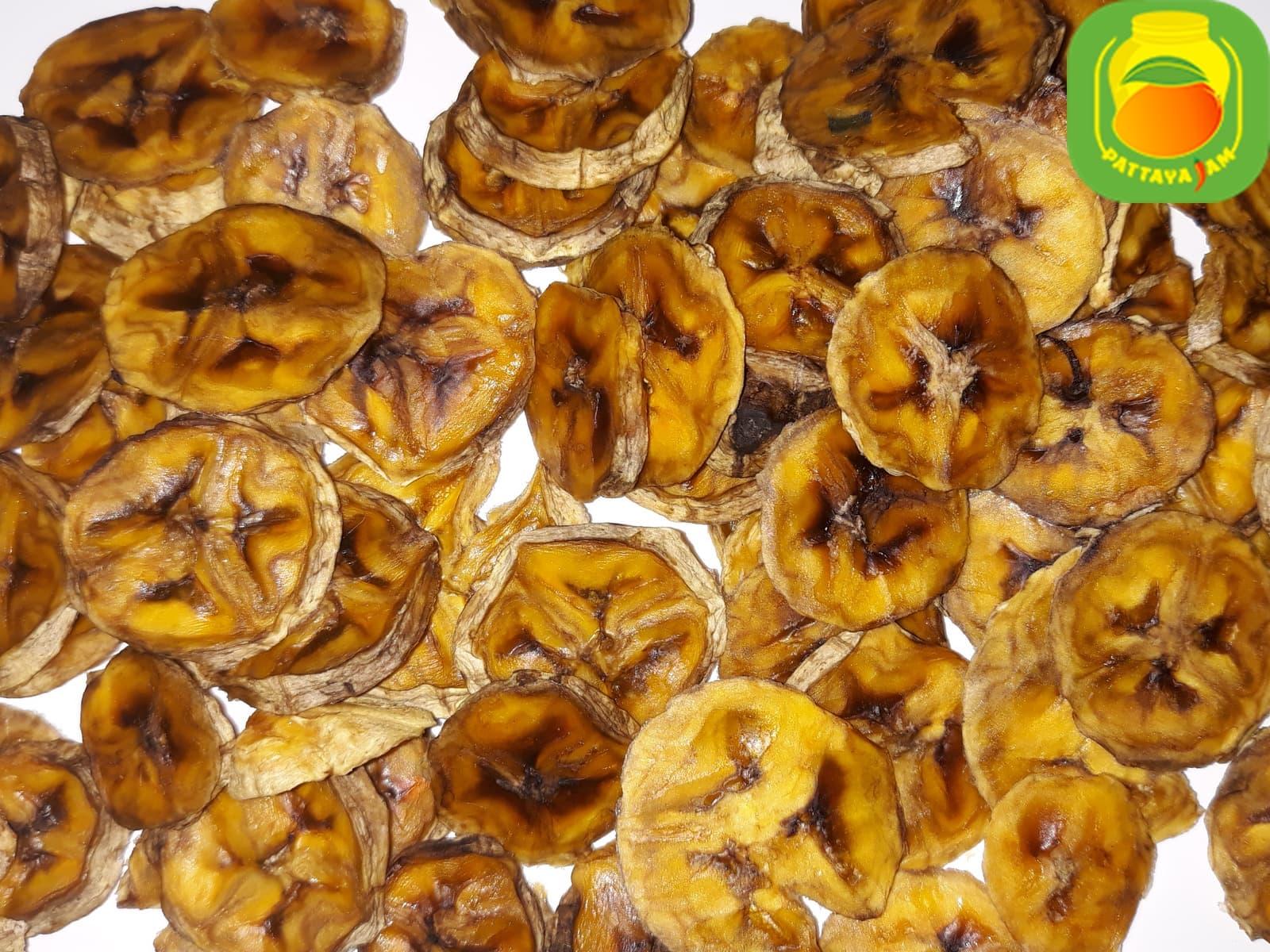 Вяленые или сушеные бананы - фруктовые чипсы
