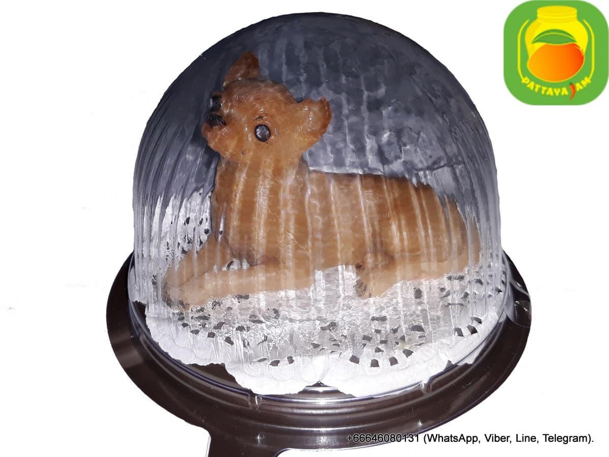Мыло ручной работы Собака Чихуахуа, в куполе. Таиланд.